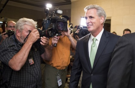 mccarthy062014 445x291 Details Emerge on House GOPs September Agenda