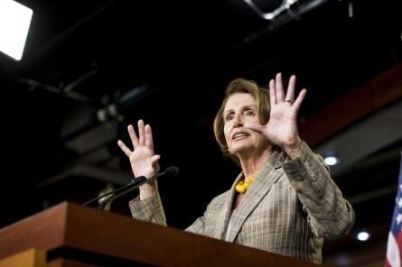 pelosi 004 100114 1 445x296 What Election Night Meant for House Democratic Leadership