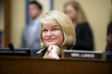 a Lummis, R-Wyo., participates in the House Oversight and Government Reform Committee hearing on