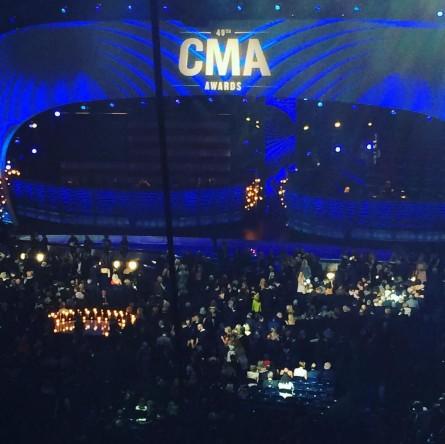 Living the dream at the CMA Awards. (Courtesy Kurt Bardella)