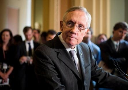 Reid once had grand plans. (Bill Clark/CQ Roll Call)