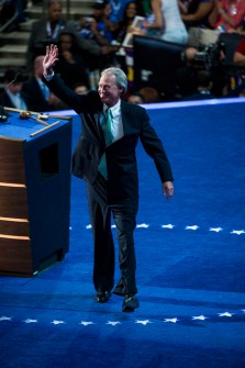 Chafee, seen here at the Democratic National Convention in 2012, is a most unusual presidential candidate. (CQ Roll Call File Photo)