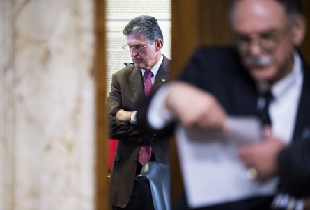 manchin091814 445x302 Senate Votes to Fund Syrian Rebels Against ISIS, Avert Government Shutdown (Updated) (Video)