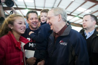 KYPOL14 046 110314 330x219 McConnell Eyes the Prize as Grimes Hopes for Grand Upset (Updated)
