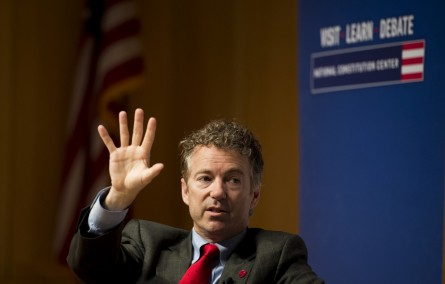 Rand Paul blocked a Patriot Act extension when he couldn't get votes on his amendments. (Bill Clark/CQ Roll Call)