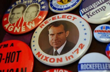 Nixon gets star billing in the documentary