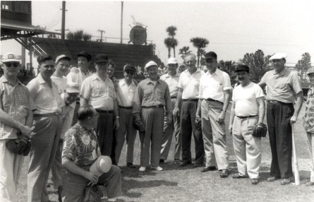 Herlong hosted members of Congress in Daytona Beach for a spring training run for the Congressional Baseball Game. (CQ Roll Call File Photo)