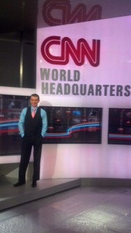 Levs, a former CNN reporter, is taking his paternity leave message to Capitol Hill (Photo courtesy Josh Levs).