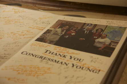 Late Congressmans Wife on Quest for Missing Cash, Memorabilia