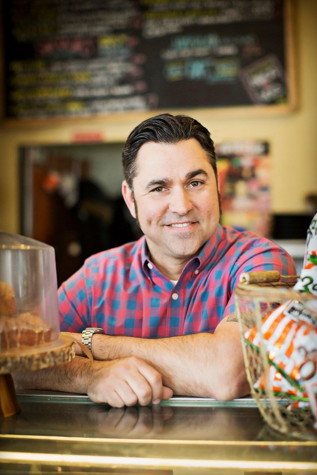 Bayou Bakery founder and Travel Channel host David Gaus. (Courtesy Scott Suchman)