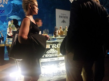 Patron ice bar at DISCUS reception