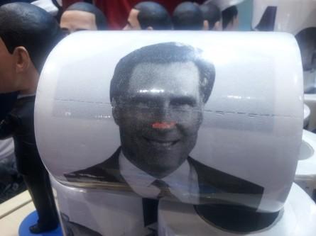 Mitt Romney toilet tissue