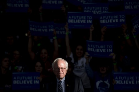 Sanders was the least bipartisan senator in 2015. (Photo By Bill Clark/CQ Roll Call File Photo)