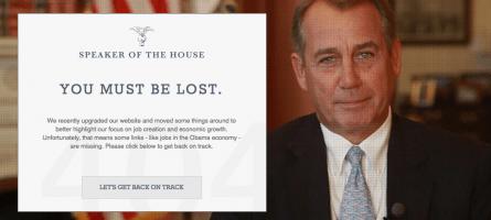 Speaker John Boehner's