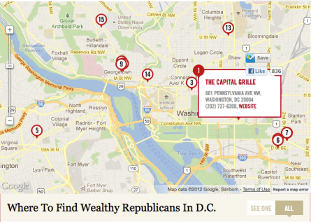 Eater's Wealthy Republicans Map