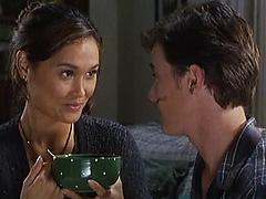 Tia Carrere - Vintage He Fucks Her On The Couch Like A Champ Exotic milf vintage