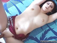 Youthful Indian goddess groans while getting her cunt banged Big tits college hardcore