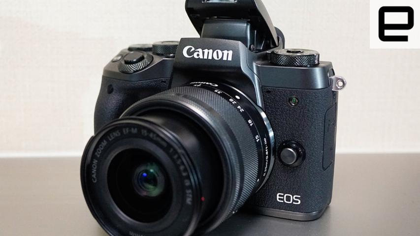 Canon EOS M5 來到臺灣,單機身 NT$32,900