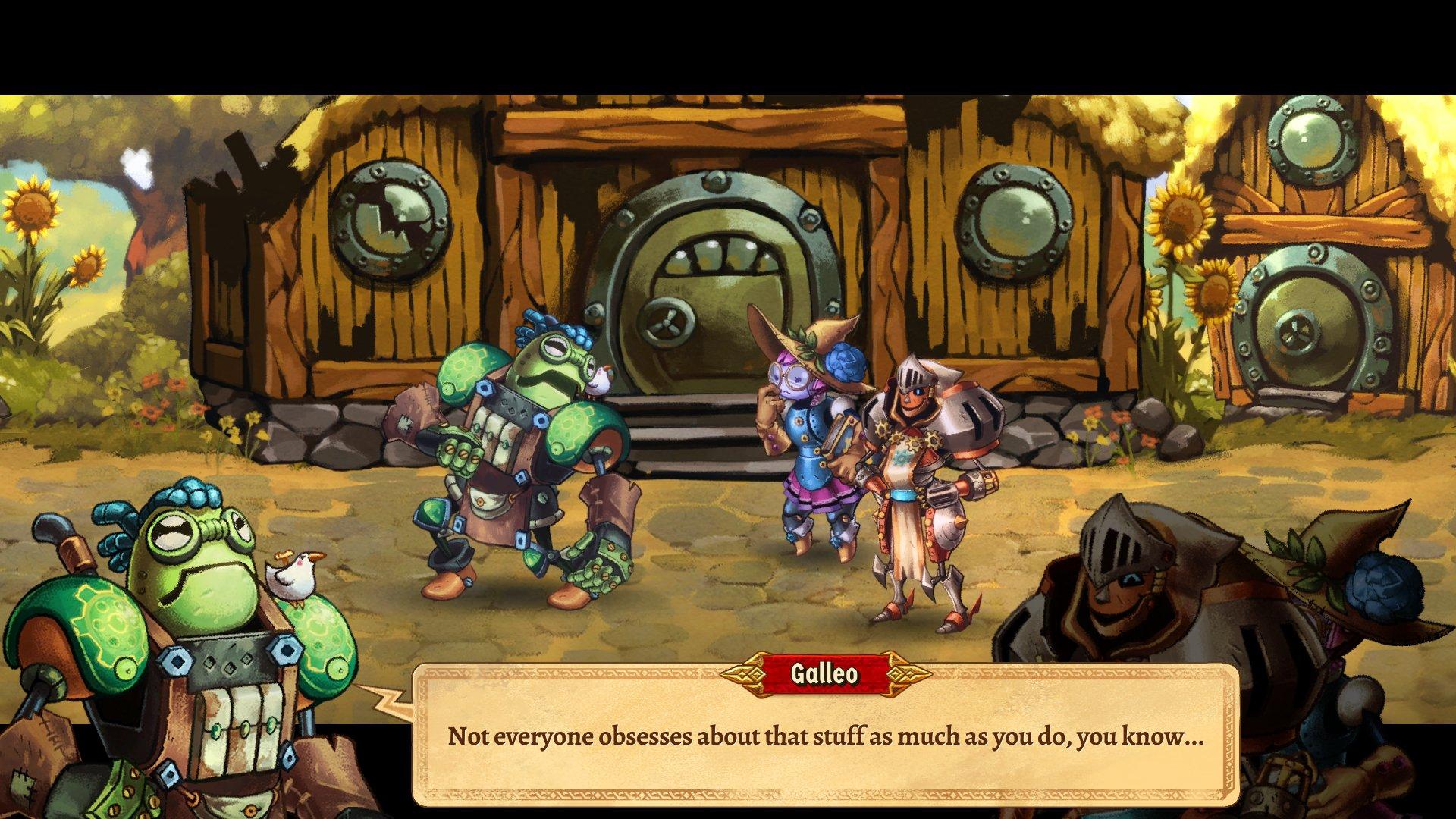 SteamWorld Quest: The Hand of Gilgamech