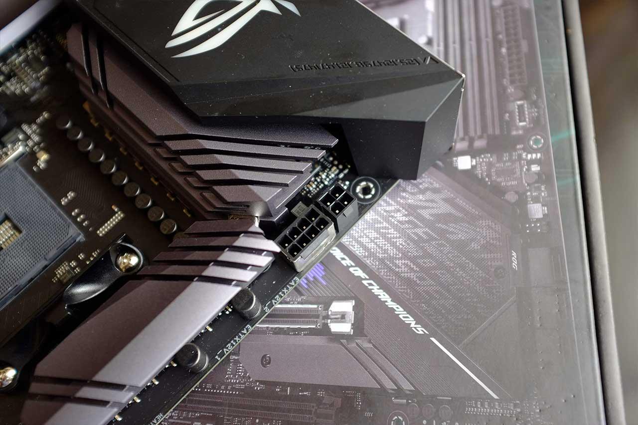 ASUS Strix X570 E Gaming, AMD Ryzen 7 3700x