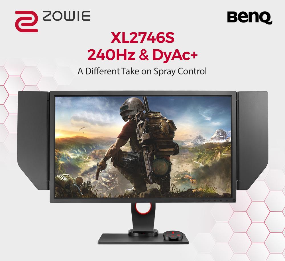 BenQ ra mắt sản phẩm Màn hình chơi game ZOWIE XL2746S