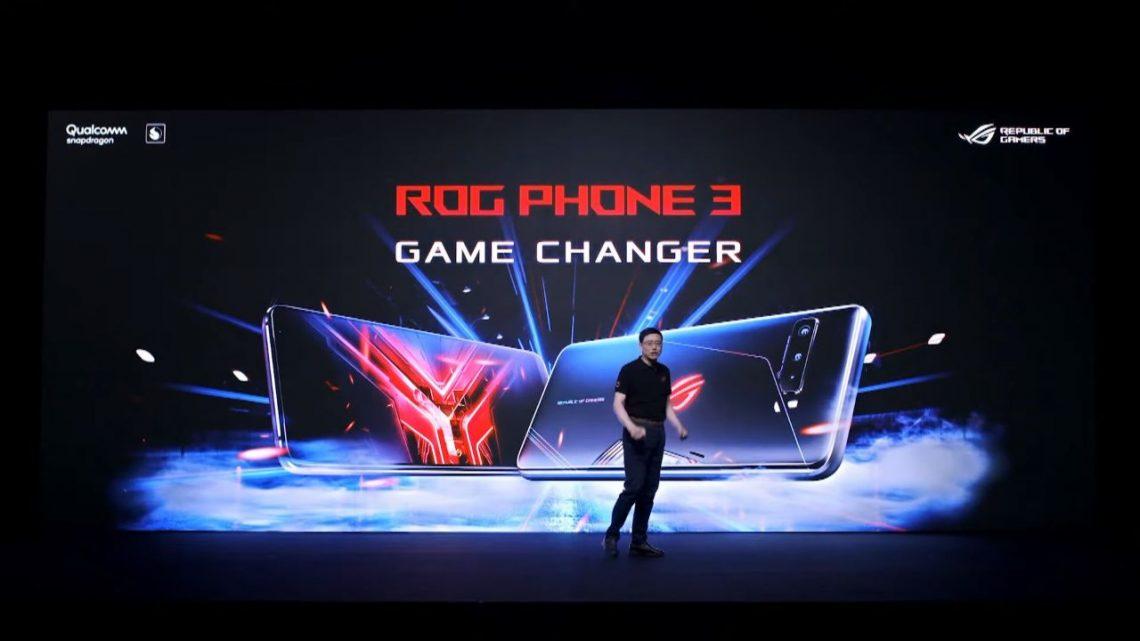 ASUS ROG Phone 3 ra mắt cộng đồng game thủ thế giới