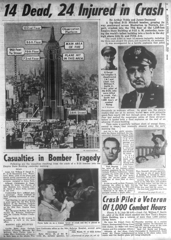 Empire State Building Crash 1945