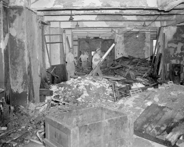 Empire State Building 1945 Bomber Crash
