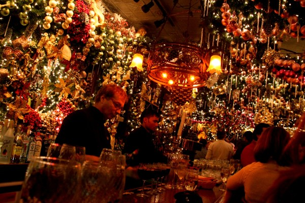 german restaurant nyc christmas decorations