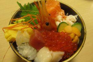 二条市場魚生飯