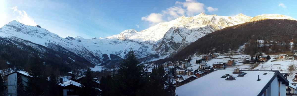 瑞士遊 (二) 在雪山小鎮被迫悠閒渡聖誕