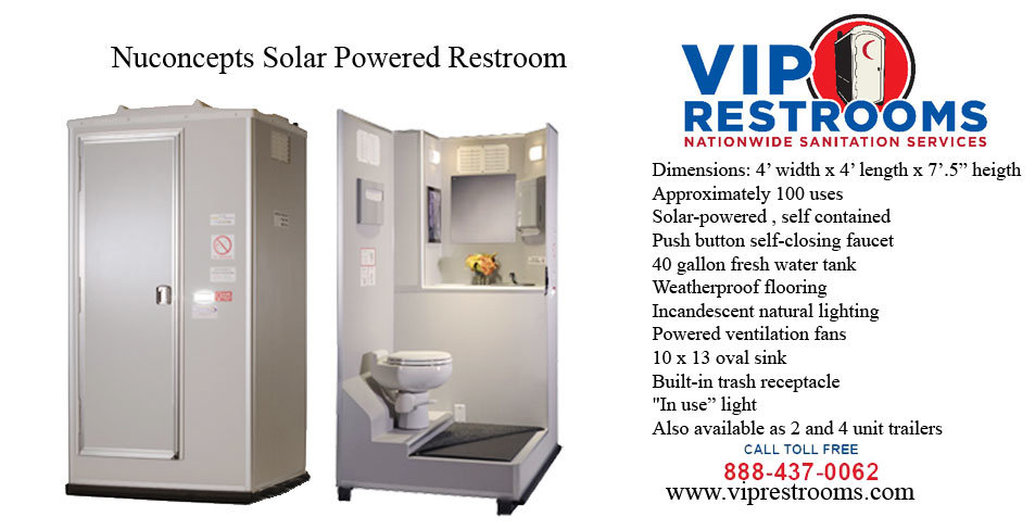 VIP Restrooms - Products. Mobile Restrooms. Shower Trailers & Sinks