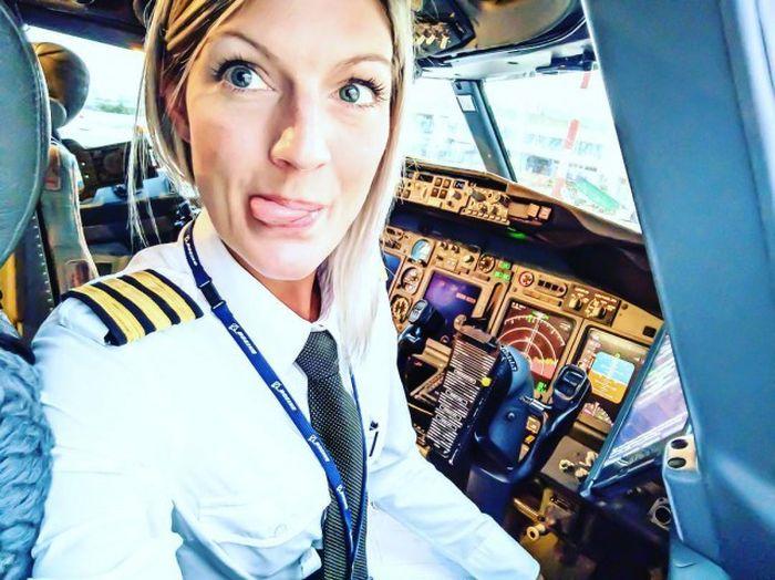 ViralityToday  Meet Swedens Most Beautiful Pilot