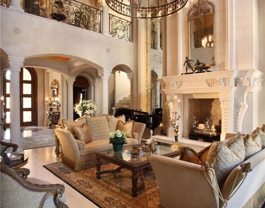 Tips for living room in Mediterranean style furniture