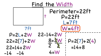 how to find the perimeter of a prism