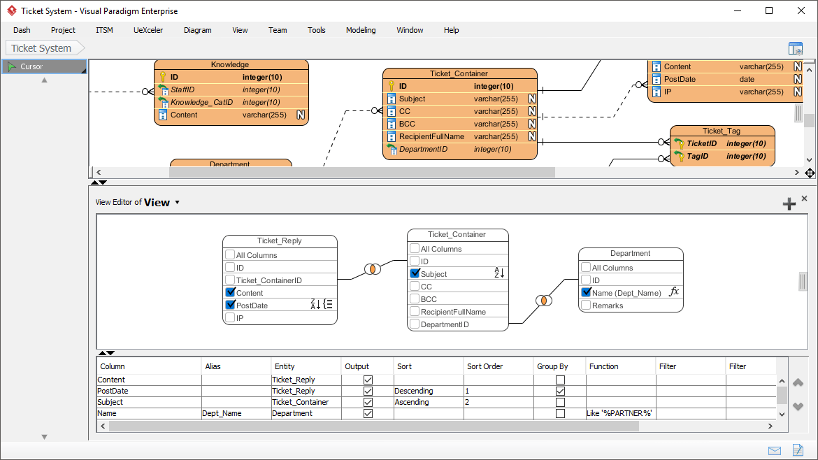 software to make er diagram 2012 f150 wiring database design with erd tools view editor