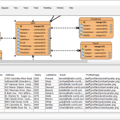 Hospital Database Design Diagram Les Paul Standard Wiring With Erd Tools Table Record Editor