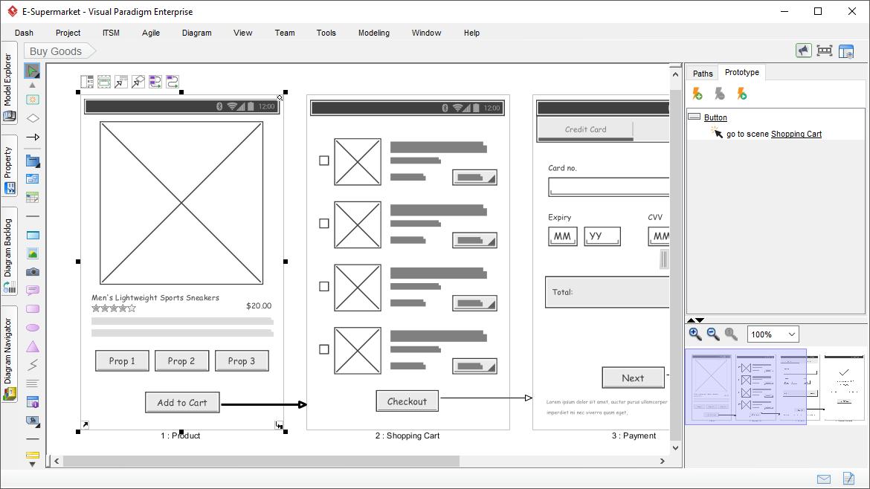 UX Prototyping Tool