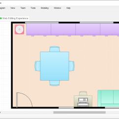 Kitchen Visualization Tool Big Lots Appliances 平面图工具 简单的餐厅