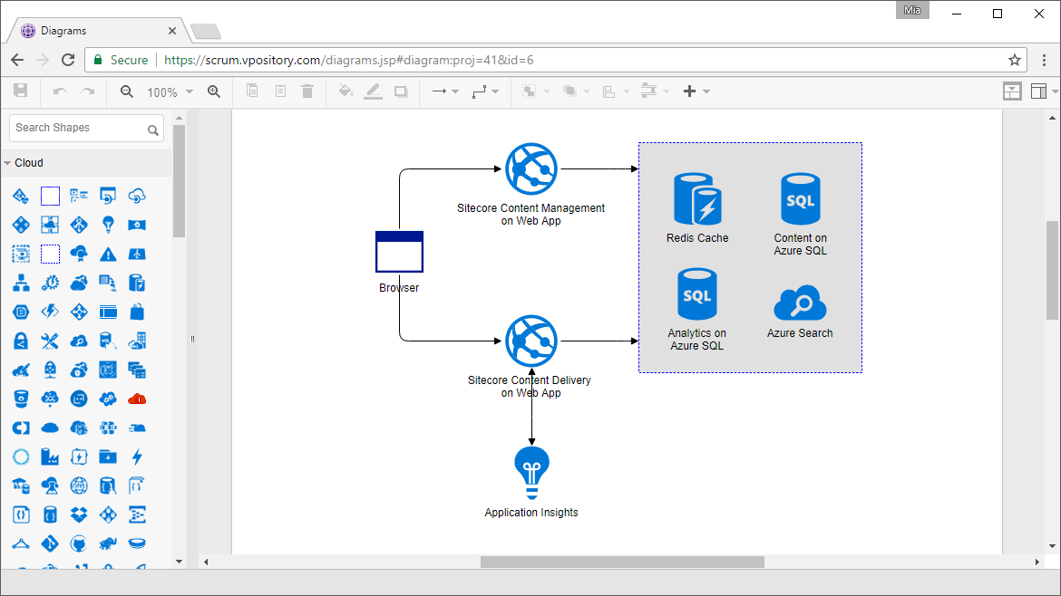 free tool to draw architecture diagram tv wiring online drawing aws azure
