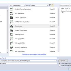 Database Diagram Visual Studio 2013 2007 Suzuki Eiger Wiring Generating C From Class In Create Project