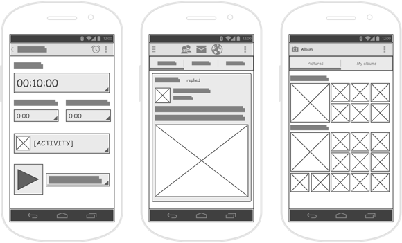 How to Draw Wireframe for Android Apps?