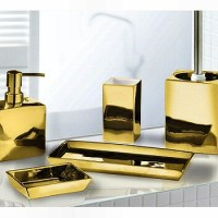 Elegant Silver or Gold Bathroom Accessories - Luxurious ...