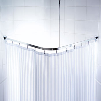 shower curtain rods extra long
