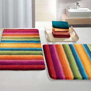 funky bath rugs