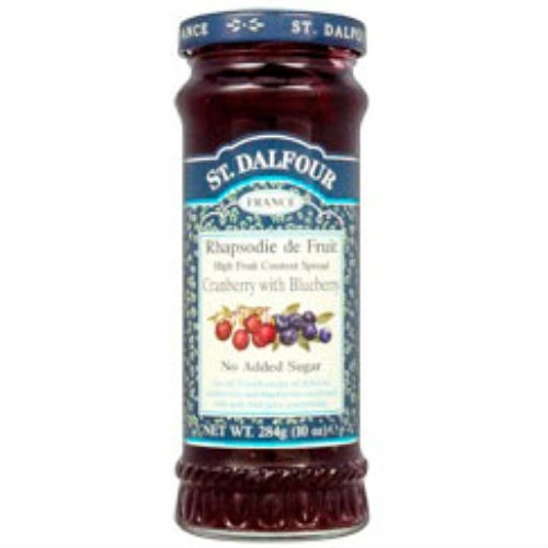 Buy St Dalfour Cranberry Blueberry Fruit Spread 284g