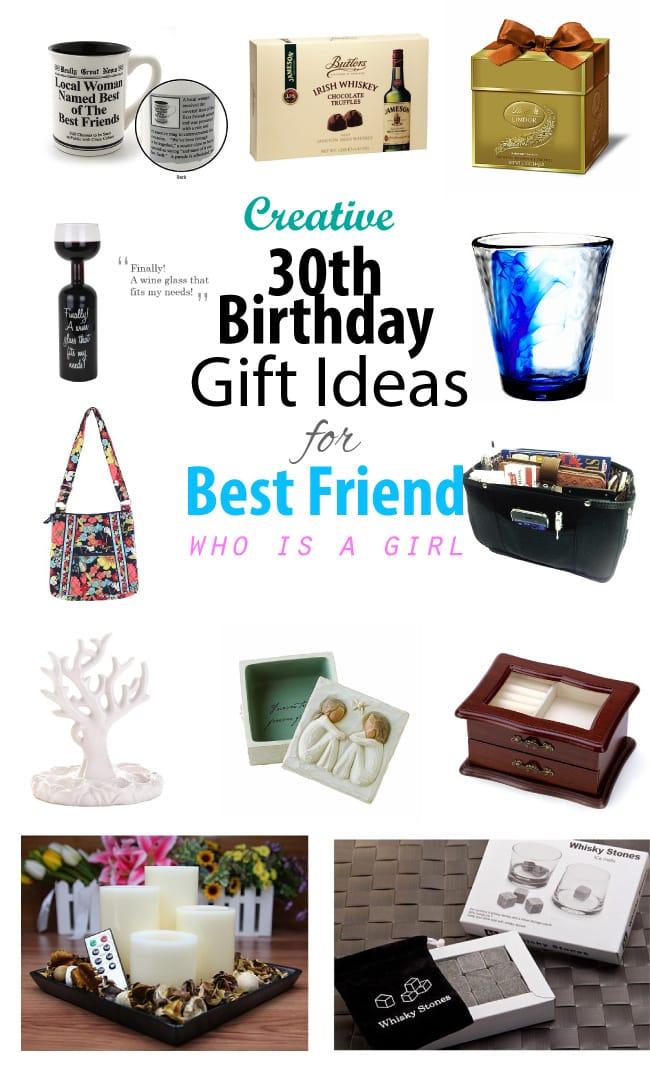 Creative 30th Birthday Gift Ideas For Female Best Friend