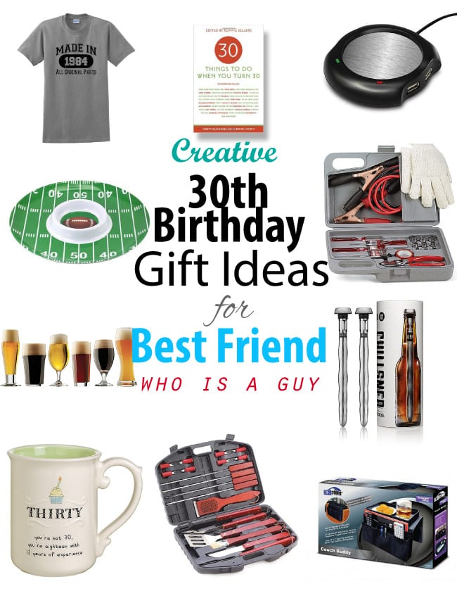 Creative 30th Birthday Gift Ideas For Male Best Friend S