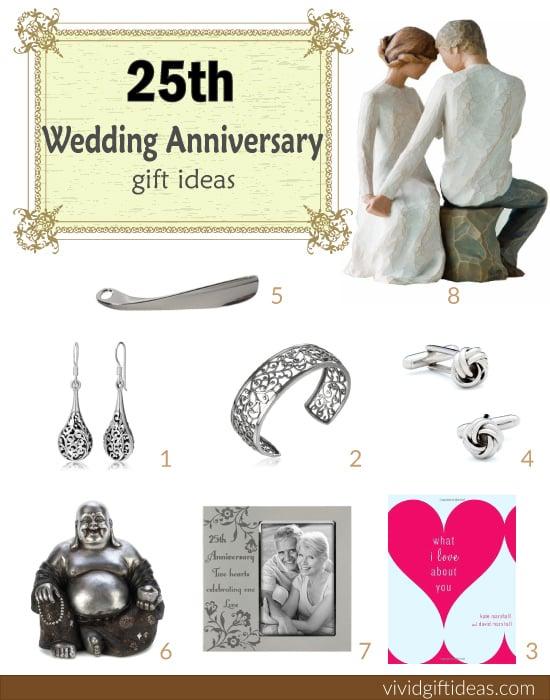 25th Wedding Anniversary Gift Ideas | VIVID'S