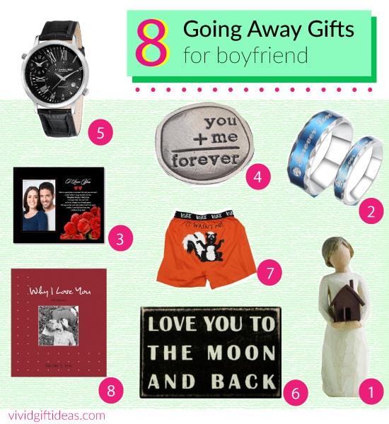 8 creative going away